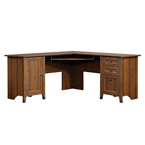 Sauder 416969 Carson Forge Corner Computer Desk, L: 66.14