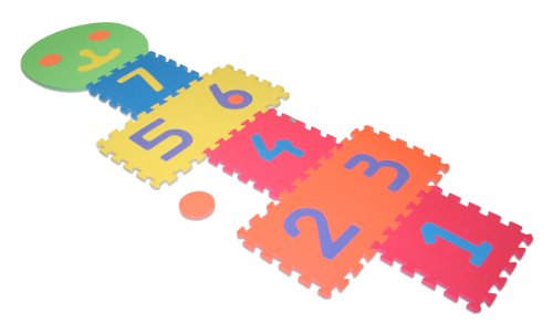 Edushape Smiley Hopscotch Game Set toys