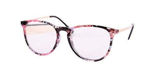 Flowers Fashion Trendy Vintage Retro Frame Clear Lens Nerd Geek Glasses Eyeglass - For Geek Glasses Sale