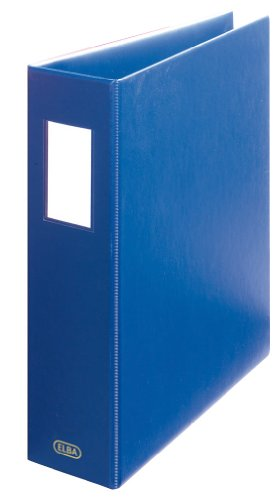 Two Light Elba (Elba 2Ring Binders with Shock-Corded PVC Capacity 6.5cm a4+ Blue)
