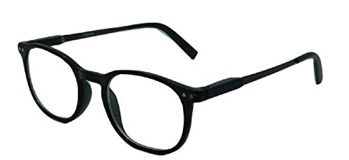 Stylish Classic Look Spring Hinged Reading Glasses -1.00 - - For Round Reading Glasses Face
