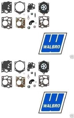 Walbro 2 Pack Genuine K10-SDC Carburetor Repair Rebuild Kit Fits SDC Series OEM