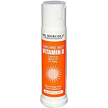 Dr. Mercola Sunshine Mist 5000 IU Vitamin D3 Spray - 0.85 Fl. Oz