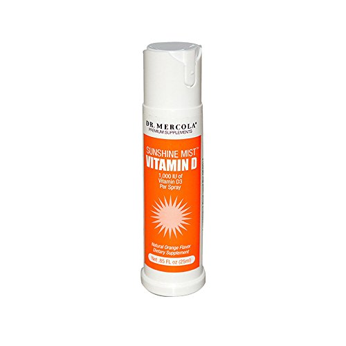 2070f9c2a035 Dr. Mercola Sunshine Mist 5000 IU Vitamin D3 Spray - 0.85 Fl. Oz.