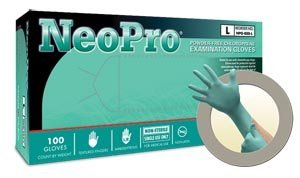 Microflex NPG-888-XL Green Synthetic Neopro Gloves, X-Large (Pack of 1000) by Microflex