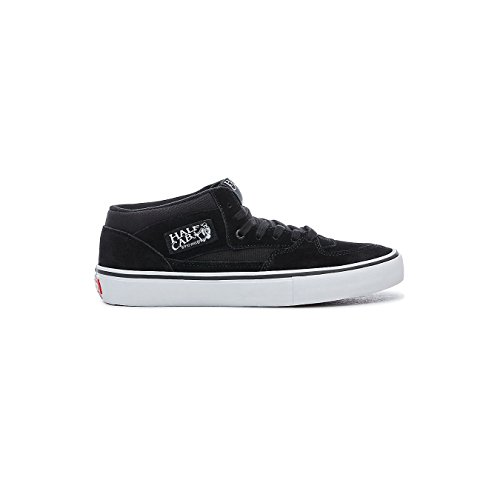 Vans Half Cab Pro Shoes 10.5 B(M) US Women / 9 D(M) US Black Black White (Pro Half Vans Shoe Cab)