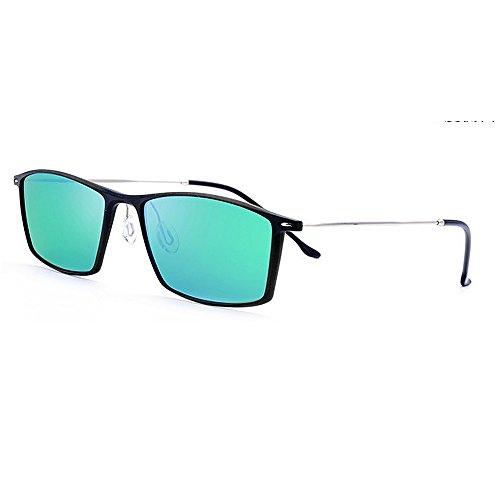 Gafas del de del conducen de Sol Gafas los Marco Hombres del los de SunglassesMAN Gafas Hombres Metal Gafas de de antideslumbrantes Las Que polarizadas Yxsd de Deporte Green Sol Sol Brown de Sol Color Oawvq
