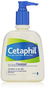 Cetaphil Daily Facial Cleanser, For Normal to Oily Skin, 8 Ounce (Pack of 3)