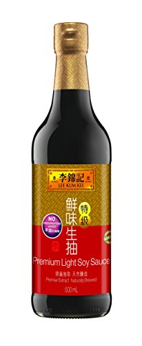 Lee Kum Kee Soy Soy Sauce - Lee Kum Kee Premium Soy Sauce, 16.9-Ounce Bottle (Pack of 2)