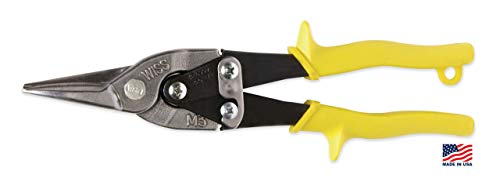 Wiss Compound - Wiss M3R MetalMaster 1-3/8-Inch Cut Capacity 9 3/4-Inch Straight, Left, and Right Cut Compound Action Snip (Renewed)