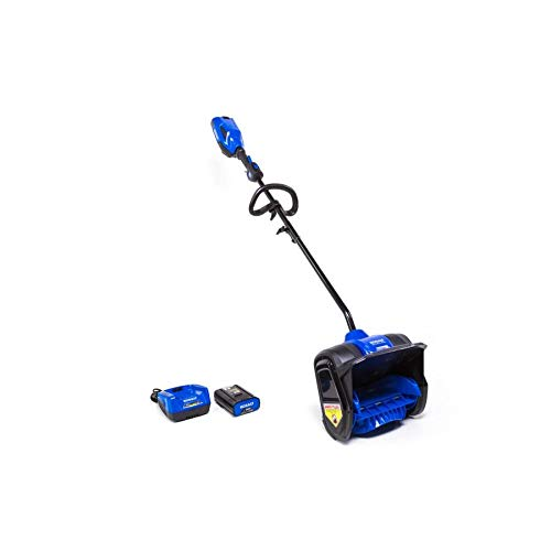 Kobalt 40-Volt 12-in Single-Stage Cordless Electric Snow Blower (Battery Included)