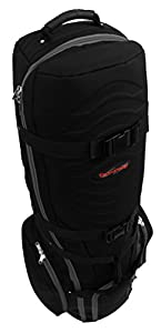 CaddyDaddy Golf Phoenix Golf Travel Bag, Black from CaddyDaddy Golf
