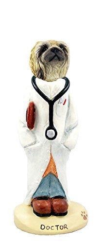 Pekingese Doctor Doogie Collectable Figurine
