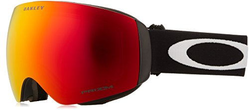 Oakley OO7064-39 Flight Deck XM Eyewear, Matte Black, Prizm Torch Iridium - Deck Goggles Oakley Flight