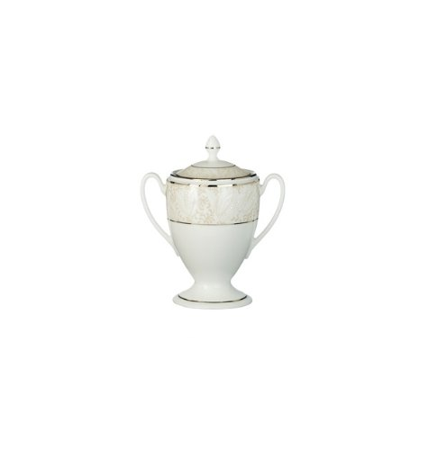 Waterford Bassano Sugar Bowl - Sugar Bowl Covered Waterford