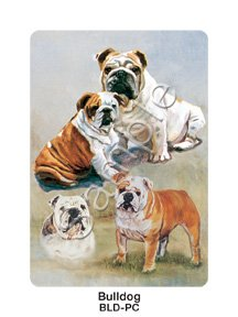 English Playing Card - Old English Bulldog Playing Cards by Best Friends Ruth Maystead