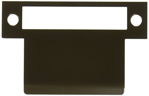 Don-Jo MEST-125 13 Gauge Steel Mortise Type Extended Lip ANSI Strike, Dura coated, 2-1/2'' Width x 4-7/8'' Height (Pack of 5) by Don-Jo