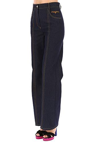MSGM Jeans Femme Coton 2441MDP11X18411389 Bleu 6rq6p