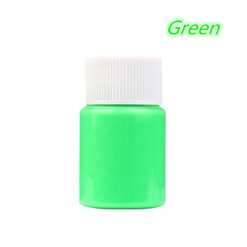 Glow in the Dark Paint, Transer DIY Acrylic Luminous Paint Bright Pigment Party Decoration 20g (H)