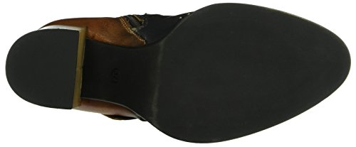 We are Movie D-Cognac-Nero, Zapatillas de Estar por Casa para Mujer Marrón - Braun (Cognac-Nero)