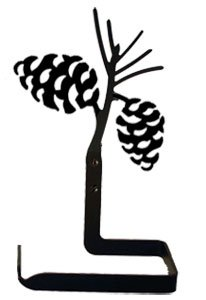 Village Wrought Iron TT-89 Pinecone Toilet Tissue (Pinecone Toilet Tissue Holder)