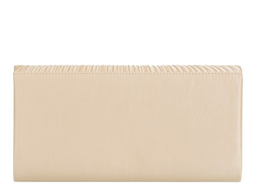 Clutch Bridal's Gold LeahWard Night 839 Satin Evening Women's Wedding Out Handbags Bag EH1a61q