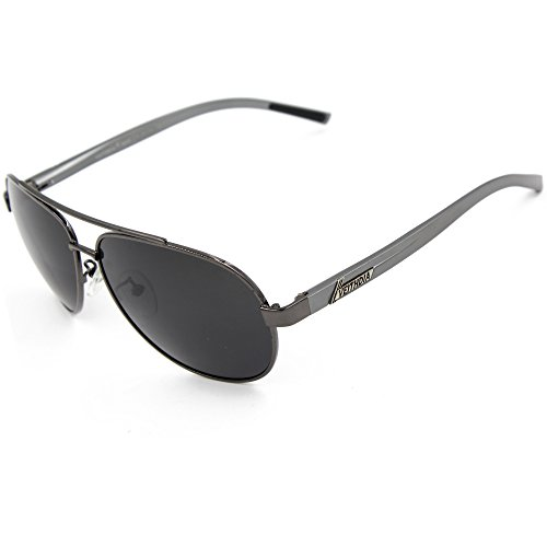 f9c79fa2a7 VEITHDIA 2605 Polarized Aviator Sunglasses 100% UV Protection Magnesium  Frame