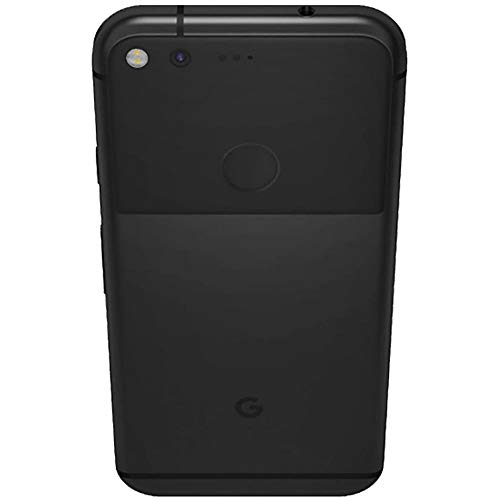 "Google Pixel 1st Gen G-2PW4100 32GB Smartphone (Unlocked, Quite Black) GSM + CDMA / 4G LTE Capable + 1 Year Warranty Bundle - US Retail Version (Quite Black, 32GB 5"")"