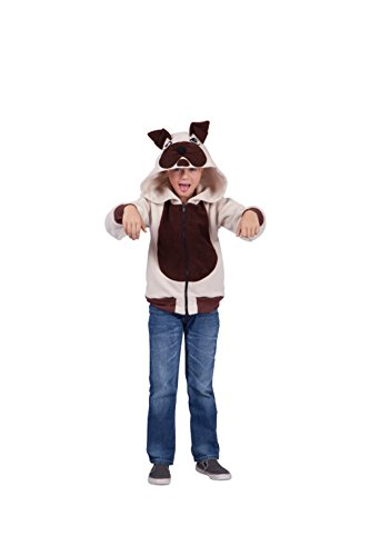RG Costumes Butch Bulldog Hoodie (As Show;Child Large)]()
