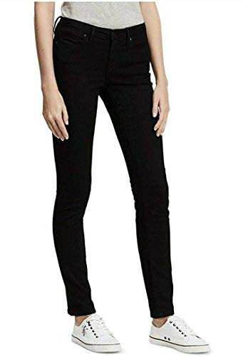 Calvin Klein Jeans Women's Stretch Skinny - Blackout - Size 4