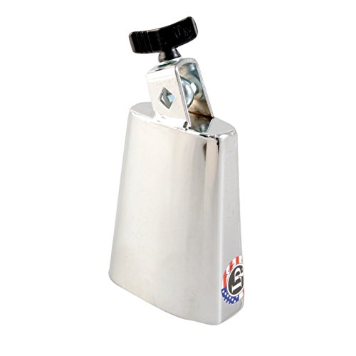 Latin Percussion LP204B Deluxe Black Beauty Chrome Cowbell by Latin Percussion
