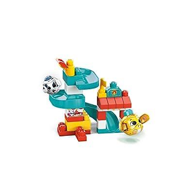 Mega Bloks First Builders Peek A Blocks Amusement Park: Toys & Games