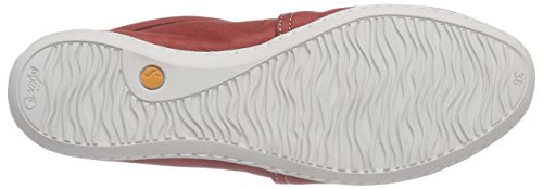 Rot Red 003 Rosso Washed Olu Softinos Donna Ballerine qx1w7HXXY