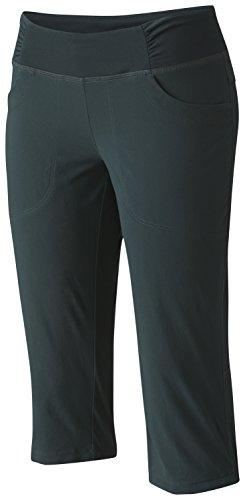 Mountain Hardwear Women's Dynama Capri Pants, Blue Spruce, M x 19L - Mountain Hardwear Womens Capris