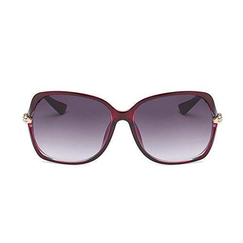 Aoligei Mesdames mode minimaliste lunettes de soleil dAFsz