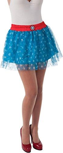 Rubie's Women's Marvel Universe Adult American Dream Skirt, Multi, One -
