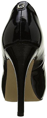 Guess Spaltung Damen Schuhe Helena Trimmen Open Toe Heel Cm 11 Pl Cm 2,5 Leather Farbe Farbe Schwarz