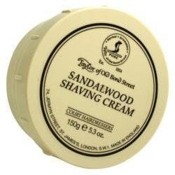 (Taylor of Old Bond Street Sandalwood Shaving Cream Bowl, 5.3-Ounce (3 Pack))