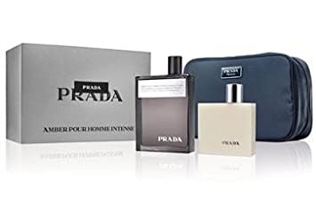 100bb974 Amazon.com : Prada Amber Pour Homme Intense Limited Edition Gift Set ...