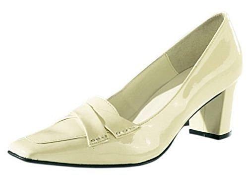 Linea Para Sintético Vestir Crudo Zapatos Tesini De Pumps Material Mujer 0xq0r7w