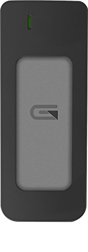 Glyph Atom Grey, 525GB SSD, USB-C (3.1, Gen 2), USB 3.0, Compatible with Thunderbolt 3 by Glyph