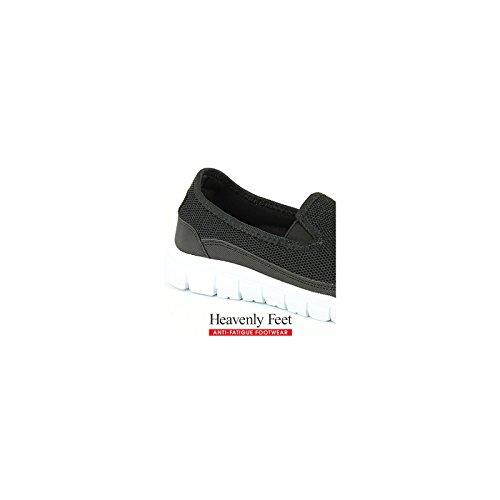 Piedi Celesti Maxi - Scarpe Da Donna Nere (artificiali)