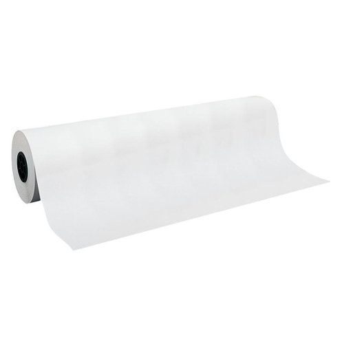 Pacon Kraft Wrapping Paper Rolls-Kraft Wrapping Rolls, 50 lb., 36''x1000', White Kraft by PAC