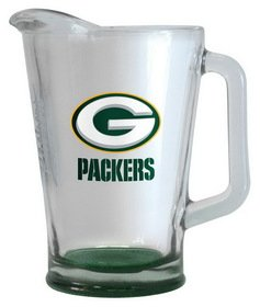 Figurine Pitcher (Green Bay Packers 60 oz Elite Glass Pitcher)