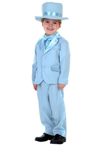 Little Boys' Blue Tuxedo - 2T