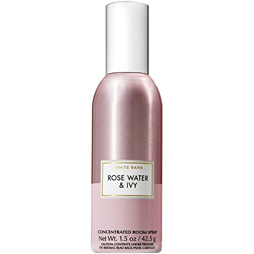 Bath and Body Works Rose Water and Ivy Concentrated Room Spray 1.5 Ounce (2019 Two-Tone Color Edition)