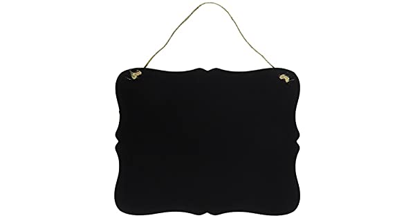 Amazon.com: Cartel pizarra vintage color negro para ...