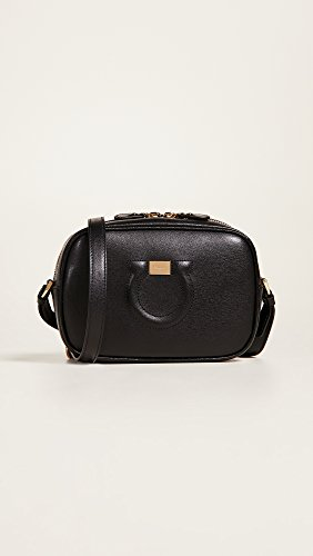 Salvatore Ferragamo Women's Nero City Camera Bag rrwdqpC