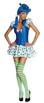 Blueberry Muffin Costume - X-Small - Dress Size 2-6 ()