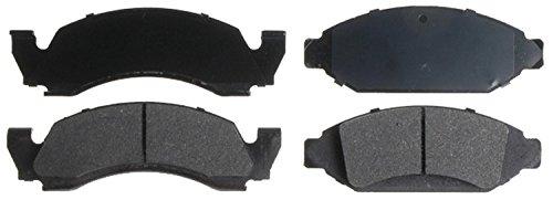 Bronco Brake Pad - ACDelco 14D375MX Advantage Severe Duty Semi-Metallic Front Disc Brake Pad Set